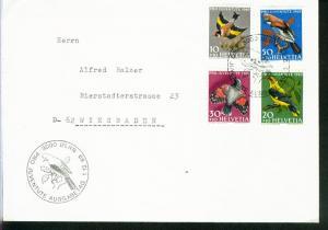 Schweiz Mi.-Nr.: 914/17  FDC