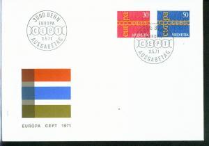 Schweiz Mi.-Nr.:  947/48  FDC
