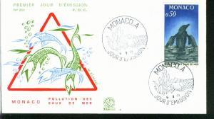 Monaco Mi.-Nr.: 1009  FDC