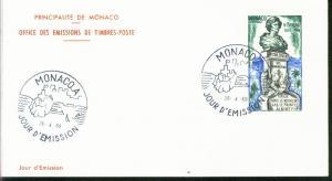 Monaco Mi.-Nr.: 926  FDC