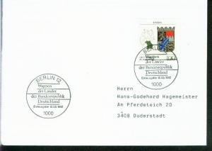 Bund Mi.-Nr.: 1587  FDC