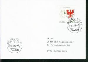 Bund Mi.-Nr.: 1589  FDC