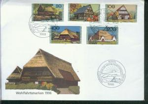 Bund Mi.-Nr.: 1883/87  FDC