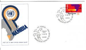 UNO-Genf  Mi.-Nr.: 34  FDC