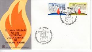 UNO-Genf  Mi.-Nr.: 35/36  FDC
