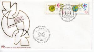 UNO-Genf  Mi.-Nr.: 39/40  FDC
