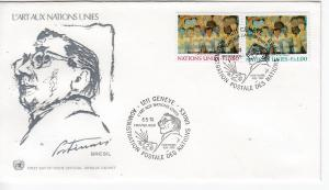 UNO-Genf  Mi.-Nr.: 41/42  FDC