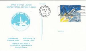 Karte NASA Space Shuttle