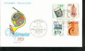 Berlin Mi.-Nr.: 459/62  FDC