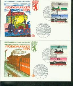 Berlin Mi.-Nr.: 488/91  FDC