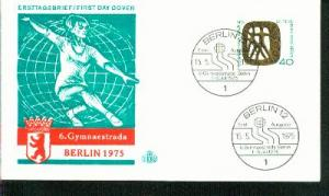 Berlin Mi.-Nr.: 493  FDC