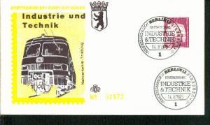 Berlin Mi.-Nr.: 495  FDC