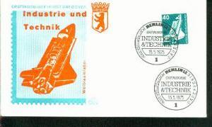 Berlin Mi.-Nr.: 498  FDC