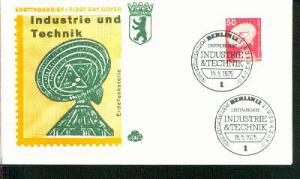 Berlin Mi.-Nr.: 499  FDC