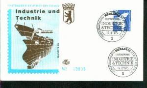 Berlin Mi.-Nr.: 500  FDC