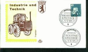 Berlin Mi.-Nr.: 501  FDC