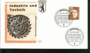 Berlin Mi.-Nr.: 502  FDC