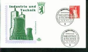 Berlin Mi.-Nr.: 504  FDC