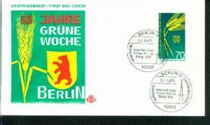 Berlin Mi.-Nr.: 516  FDC