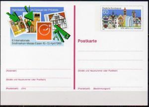 Bund, Sonderpostkarte Mi-Nr. PSO 12 **, BM-Messe Essen 1986