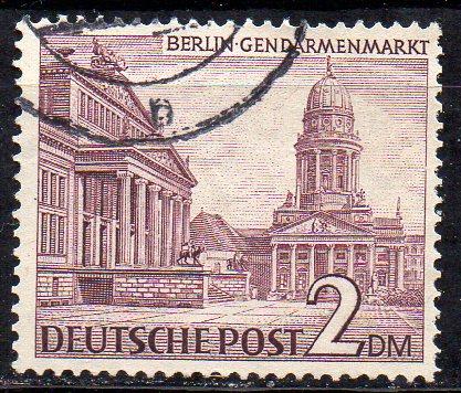 Berlin, Mi-Nr. 58 gest., Berliner Bauten I