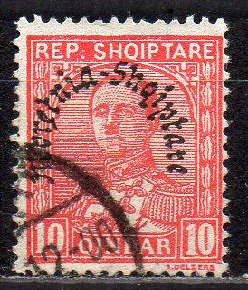 Albanien, Mi-Nr. 191 gest.,