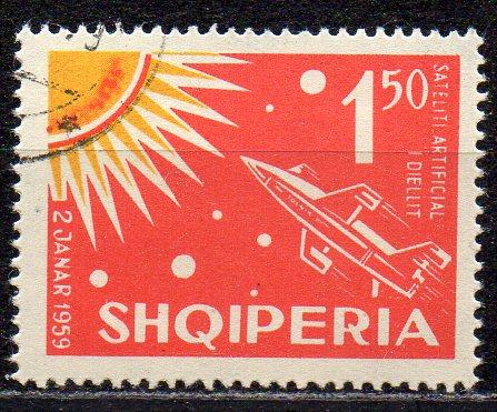 Albanien, Mi-Nr. 665 gest., Weltraumforschung
