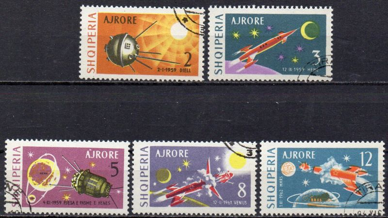 Albanien Nr Mondsonde Luna 1- 1067-70 Gest