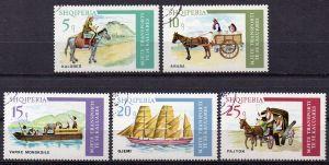 Albanien, Mi-Nr. 1773 u. a. gest., Transportmittel