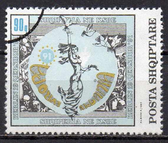 Albanien, Mi-Nr. 2493 gest., KSZE