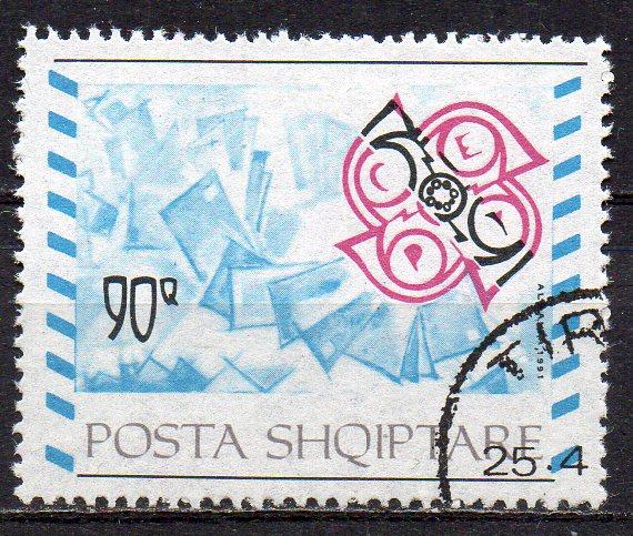 Albanien, Mi-Nr. 2495 gest., Aufnahme in die CEPT - Europa