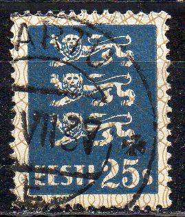 Estland, Mi-Nr. 107 gest.,