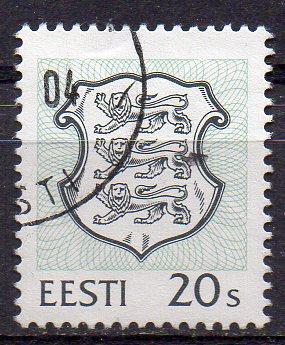 Estland, Mi-Nr. 266 gest., Staatswappen