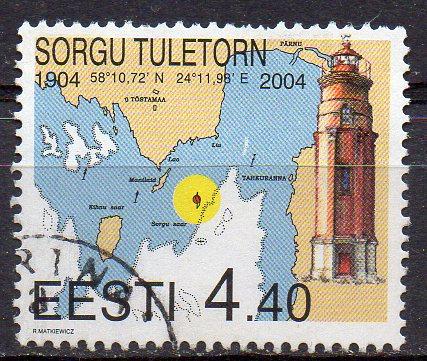 Estland, Mi-Nr. 478 gest., Leuchtturm