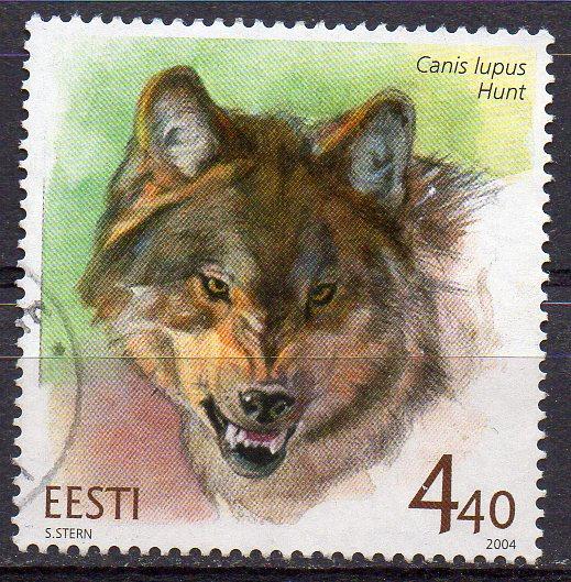 Estland, Mi-Nr. 479 gest., Wolf