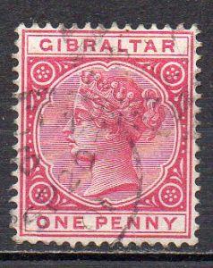 Gibraltar, Mi-Nr. 9 gest.,