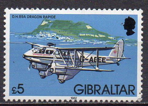 Gibraltar, Mi-Nr. 446 **, Flugzeug 0