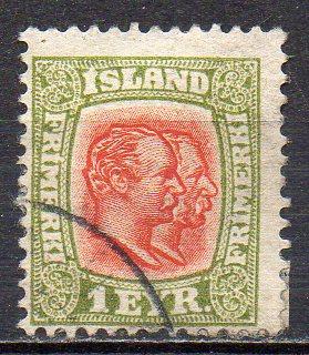 Island, Mi-Nr. 48 gest.,
