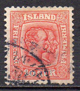 Island, Mi-Nr. 53 gest.,