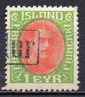 Island, Mi-Nr. 83 gest.,