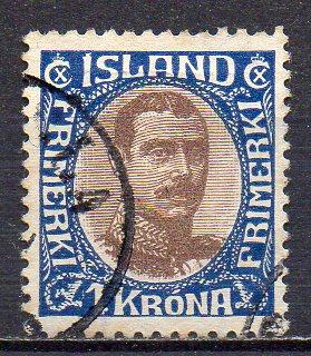 Island, Mi-Nr. 96 gest.,