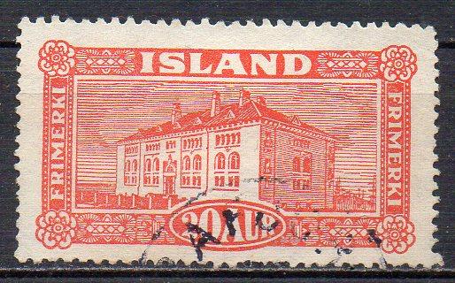 Island, Mi-Nr. 116 gest., Nationalmuseum in Reykjavik