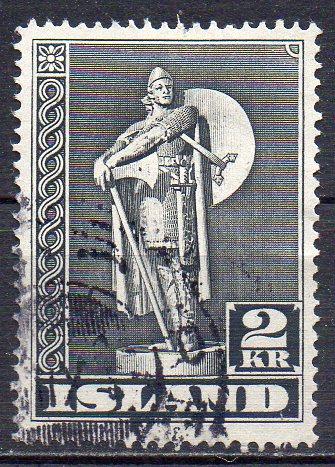 Island, Mi-Nr. 214 A gest.,