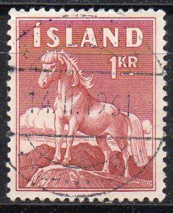 Island, Mi-Nr. 342 gest., Island-Pony