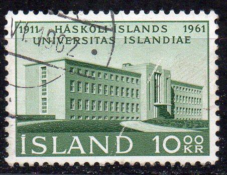 Island, Mi-Nr. 358 gest., Universitätsgebäude