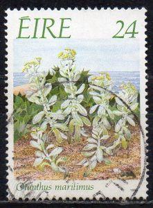 Irland, Mi-Nr. 654 gest., Gefährdete Pflanzen