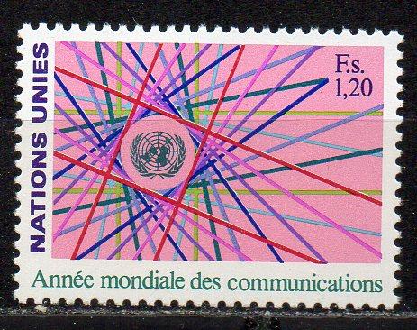 UNO - Genf, Mi-Nr. 111 **, Weltkommunikationsjahr