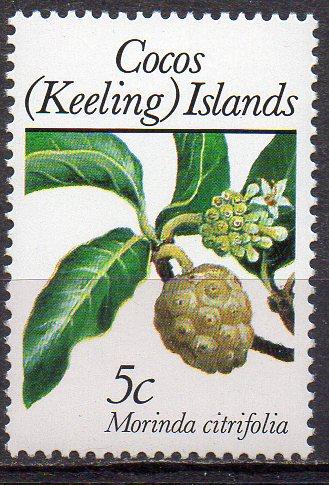 Kokos - Inseln, Mi-Nr. 199 **, Noni-Pflanze
