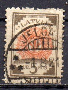 Lettland, Mi-Nr. 31 a gest.