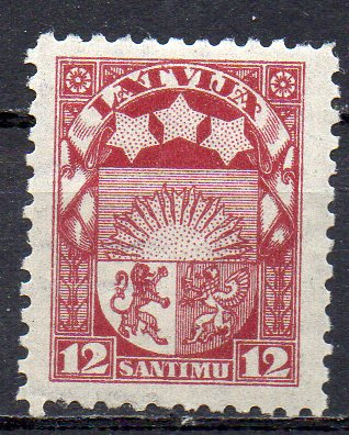 Lettland, Mi-Nr. 94 *, Staatswappen